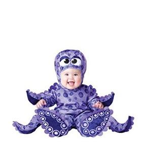 4166c3cd1 Disfraz De Pulpo Para Bebe Extra Chico Halloween Fiesta Fun