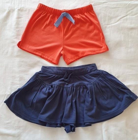 Lote De Short Carters Y Pollera Pantalon Zara Talle 4 Años