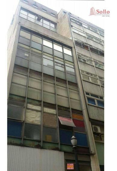 Conjunto Comercial Com 64m² Na Saída Do Metrô Anhangabaú Em Sé - São Paulo - Sa0002