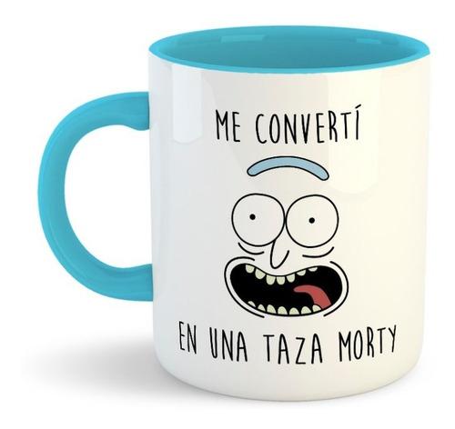 Taza Personalizada Rick Y Morty