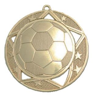 Medallas De Metal 7cm Futbol. Serdan Trofeos