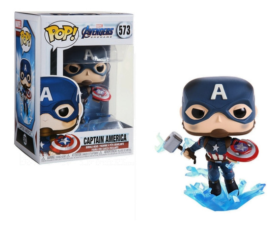 Funko Pop! Avengers Endgame - Capitan America Mjolnir Escudo