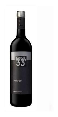 Vinho Latitud 33 Malbec - 750ml
