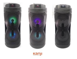 Parlante Kanji Paradis Potencia + Microfono + Control Remoto