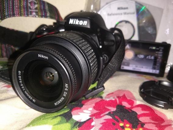 Nikon D 5100 Excelente Estado E Funcionamento Só 5k Cliks