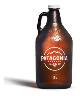 Growler Oficial Patagonia 1.9l. Incluye Tapa