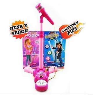 Microfono Karaoke De Pie - Mp3