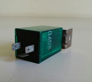 Destellador Electronico 12v 3 Terminales Universal, Usado.