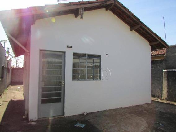Casa Com 2 Dormitórios Para Alugar, 40 M² Por R$ 650,00/mês - Conjunto Habitacional Água Branca - Piracicaba/sp - Ca2791