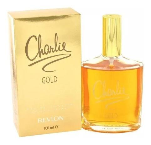 Perfume Charlie Gold Revlon 100ml Original U.s.a