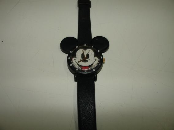 = Relogio De Pulso Feminino Disney Carinha Mickey Lorus Wate