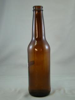Botella De Vidrio Para Cerveza De 355ml Con Corcholata 24pzs