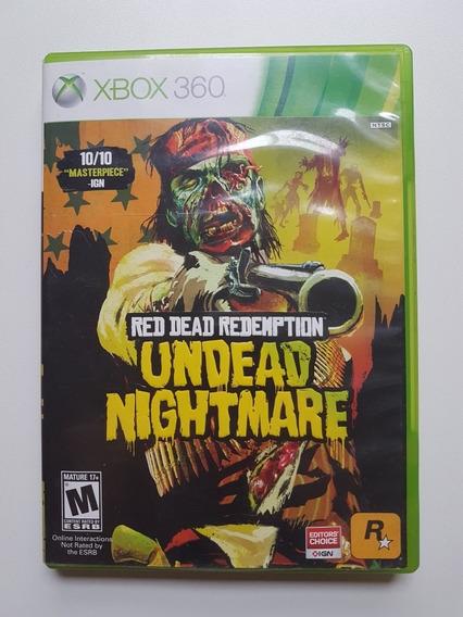 Red Dead Redemption Undead Nightmare Original Para Xbox 360