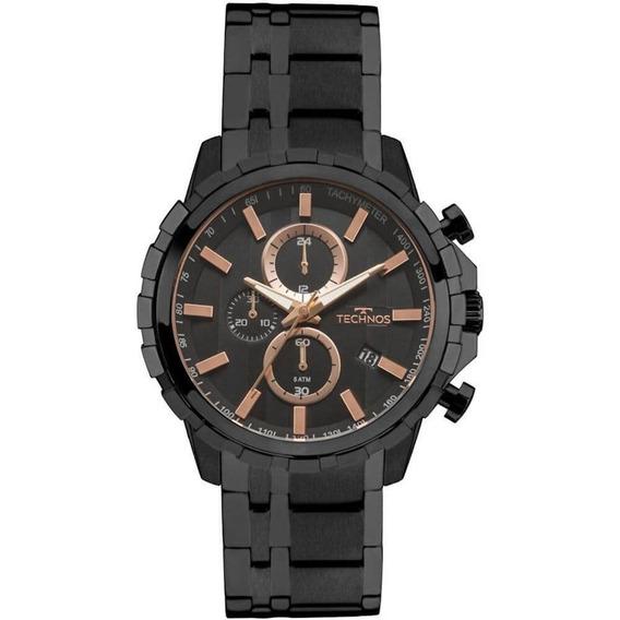 Relógio Masculino Technos Skymaster Js15fb/4p - Preto