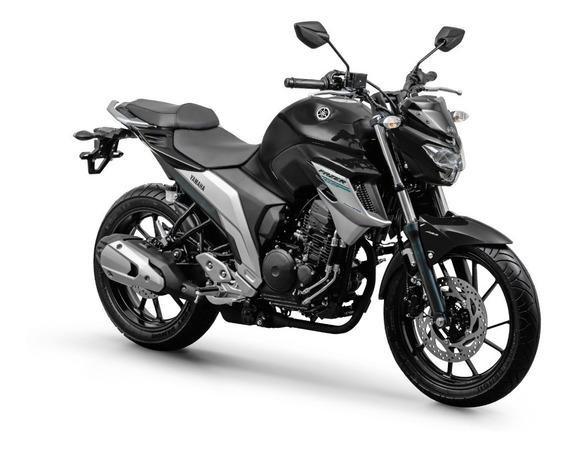 Yamaha Fz25 Fazer 250 Abs 0 Km 2020 Preta