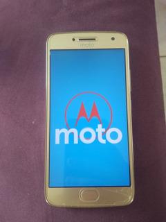 Moto G5 Plus Gold Em Estado De Zero