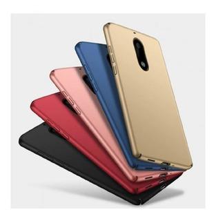 Tpu Nokia 5.1 Plus Rígida Azul Dorado Negro Rojo Rosa