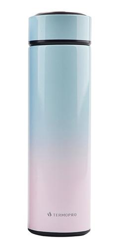 Squeeze Garrafa Térmica Degradê Inox 500ml Termopro