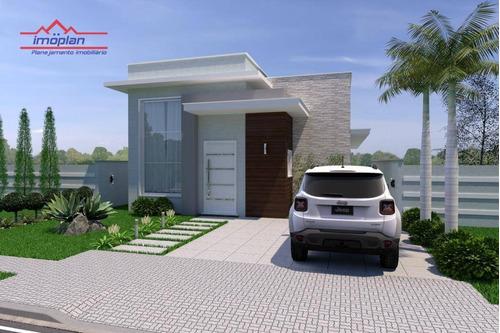Imagem 1 de 11 de Casa Com 3 Dormitórios À Venda, 130 M² Por R$ 730.000,00 - Terras De Atibaia - Atibaia/sp - Ca4114