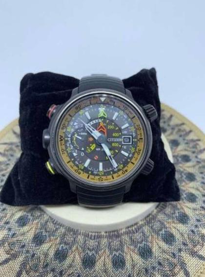 Relógio Citizen Altichron Promaster Em Titanium (eco-drive)