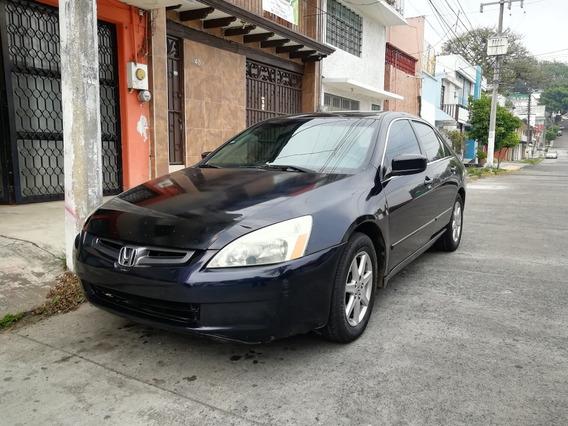Honda Accord 3.0 Ex Sedan V6 Piel Abs Qc Cd Mt 2004