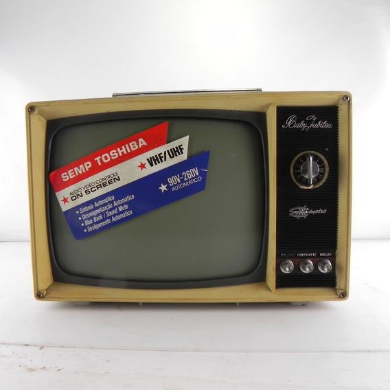 Tv Antiga Empire Baby Jubilei Relíquia Decoração C/ Defeito