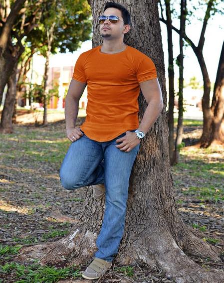 Camiseta Kit 10 Long Oversized Camisa Longline Masculina