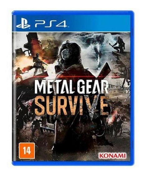 Jogo Game Metal Gear Survive Ps4 - Konami