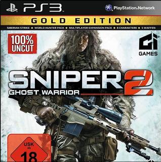 Sniper Ghost Warrior 2 Gold Edition ~ Ps3 Digital Español