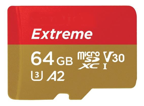 Cartao Memória Micro Sdxc 160mb/s 64gb 4k Gopro Hero6 Hero7