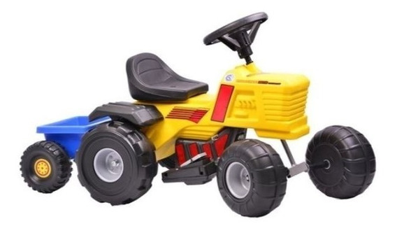 Tractor Cuatriciclo Bateria 6v Tractorcross Rodacross 1a4 Añ