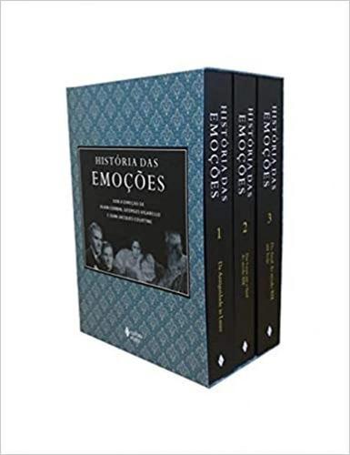 Imagem 1 de 1 de História Das Emoções - Caixa Com 3 Volumes