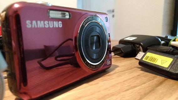 Câmera Digital Samsung Pl120 Lilás C/ 14.2mp, Lcd 2.7 , Lcd