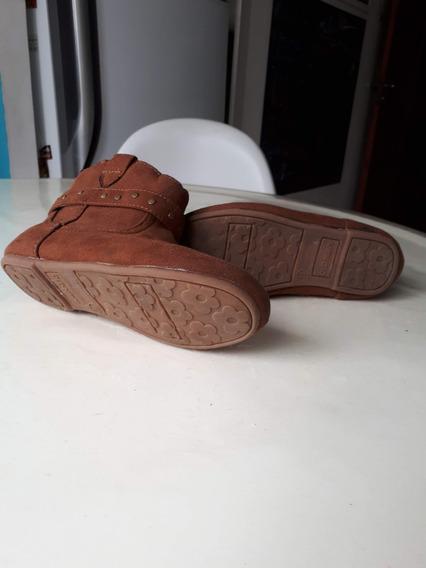 Botas Niña Gamuza