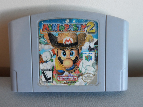 Mario Party 2 Nintendo 64 Original