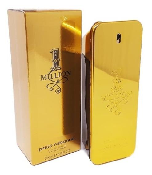Perfume One Million Edt 200ml - 100% Original +2 Amostras