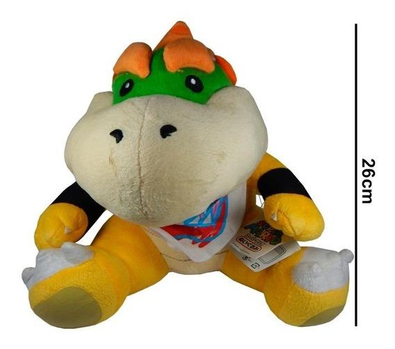 Super Mario Bros Bowser Baby Peluche Importado Original