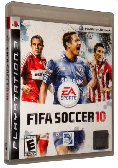 Fita Soccer 10 Ps3 Mídia Física Jogo Game