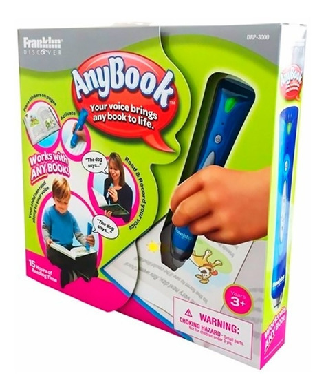 Caneta Educacional Interativa Anybook Reader Drp-3000