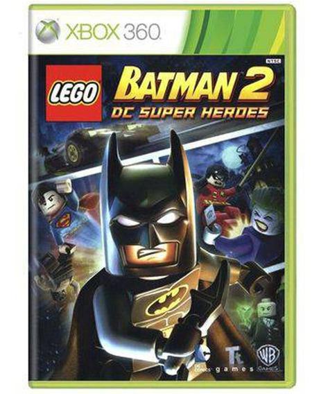 Jogo Lego Batman 2 Dc Super Heroes Xbox 360 Novo Lacrado