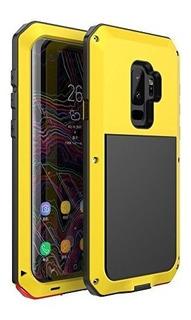Galaxy S9 Plus Caseniujne Tanque De Armadura De Metal De Alu