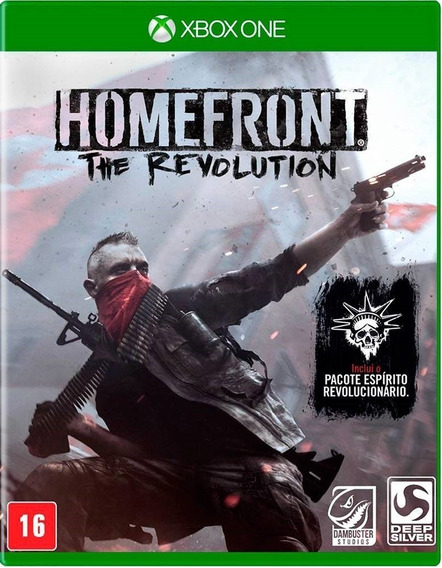 Homefront The Revolution Xbox One Mídia Física