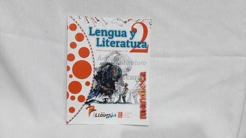 Lengua Y Literatura 2 - Serie Llaves Mas - Libro + Cod Acces