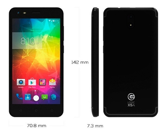 Teléfono Logic Android 7.0 1gb Ram Tienda Física