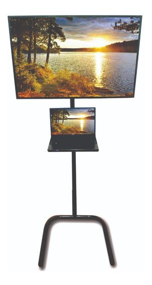 Suporte Pedestal P/ Tv. Apresentação Vídeo Aula Display