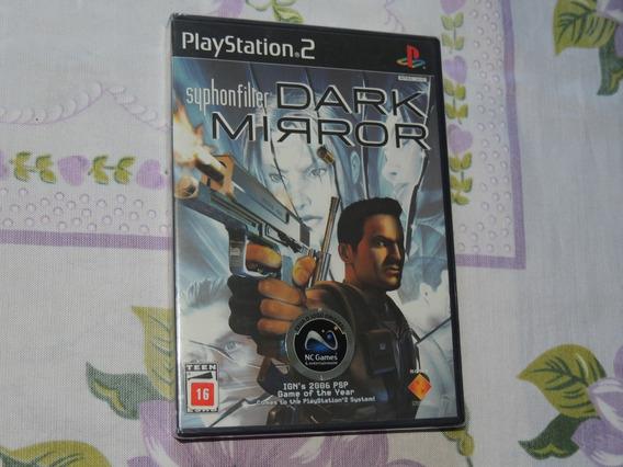 Syphon Filter Dark Mirror Original Lacrado Playstation 2