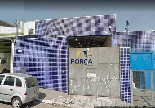 Galpão Para Alugar, 770 M² - Vila Sílvia - São Paulo/sp - Ga0576