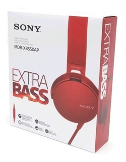 Audifono Extra Bass Mdr-xb550ap Sony - Audiomobile