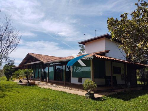Sitio Luxo À Venda Em Lagoa Santa/mg  - Campinho - Ch0029
