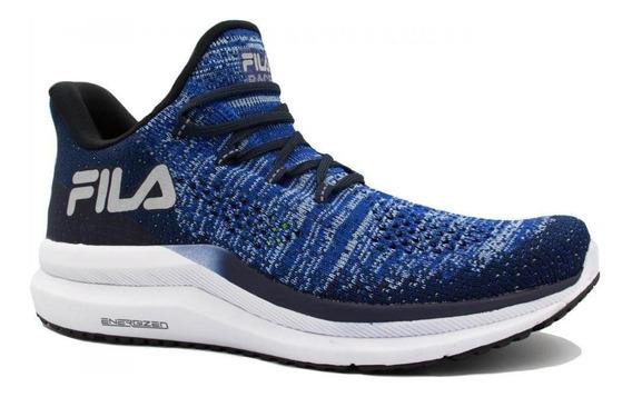 Tênis Fila Running Racer Knit Energized Azul